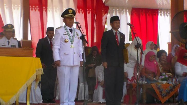 Peringatan HUT RI KE 71 di Kabupaten Pelalawan