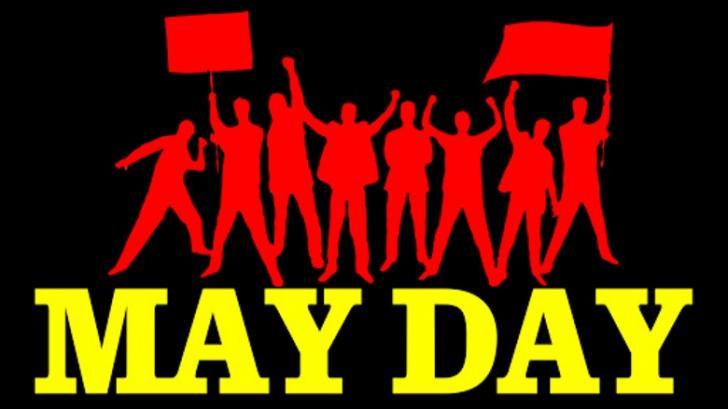 Peringatan 'May Day' di Siak Unik, Para Buruh Diberi Televisi dan Sepeda