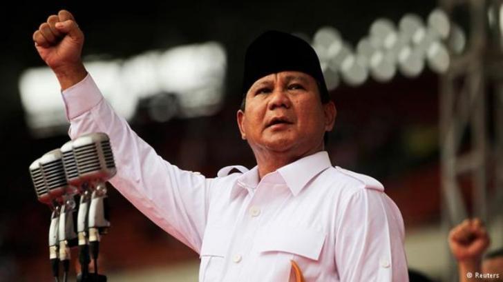 Saat Prabowo Berpidato Diteriaki Makar;