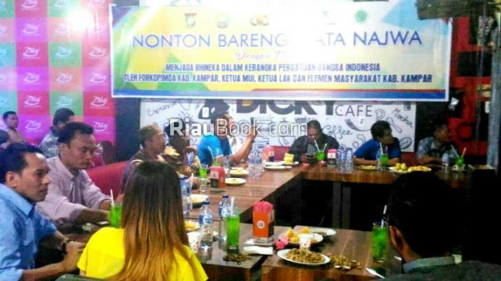 Polres Kampar Gelar Nonton Bareng Program Mata Najwa