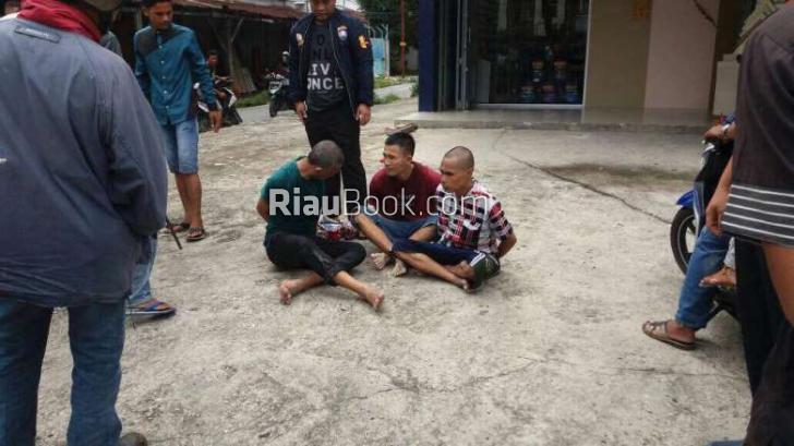 Ini Foto-foto Diduga Tahanan Sialang Bungkuk Pekanbaru yang Kabur