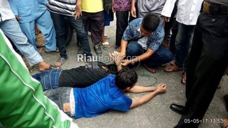 Beredar Info Kepolisian, Kerusuhan Rutan Sialang Bungkuk Pekanbaru Sebabkan 300 Napi Kabur