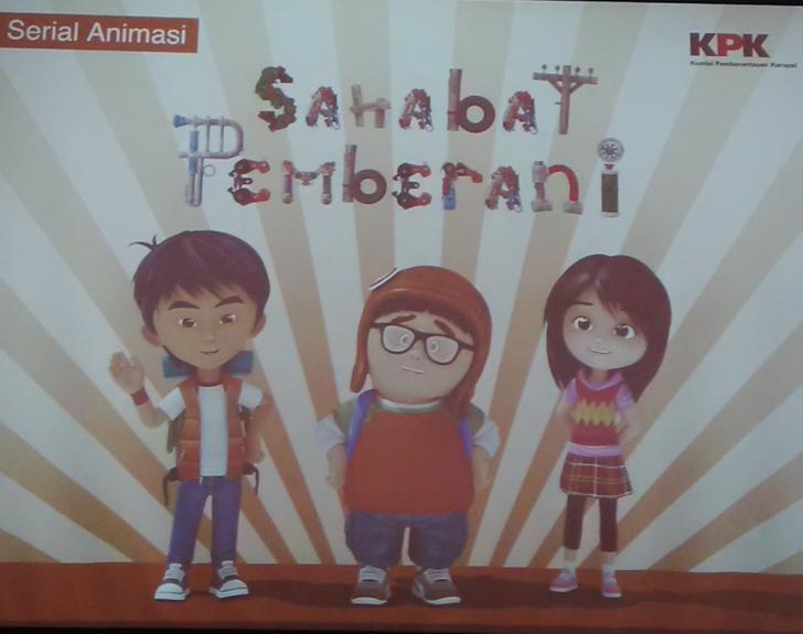 Upaya Pencegahan Korupsi, KPK Luncurkan Serial Animasi Sahabat Pemberani Season ke-2