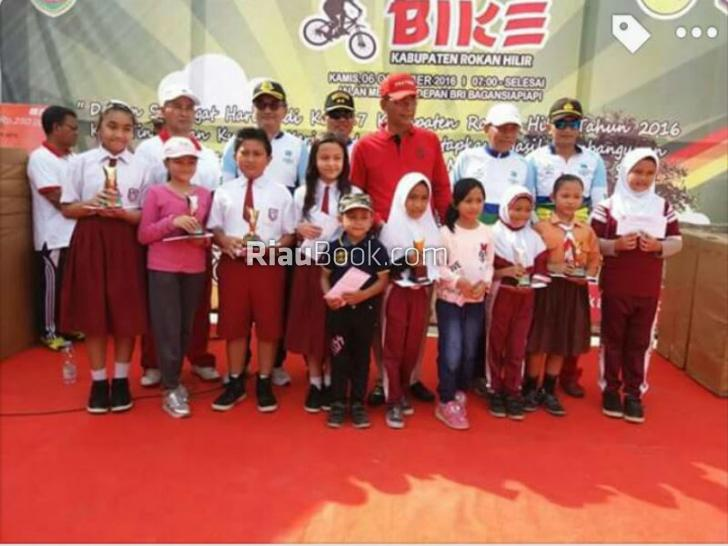 Acara Fun Bike di Rokan Hilir Banjir Hadiah