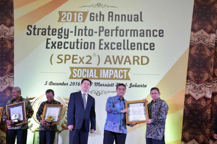 BRK Raih Penghargaan Tertinggi SPEx2 Award 2016