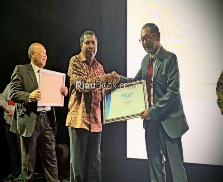 Pemkab Siak Dianugerahi GMA Dalam Upaya Promosi Daerah