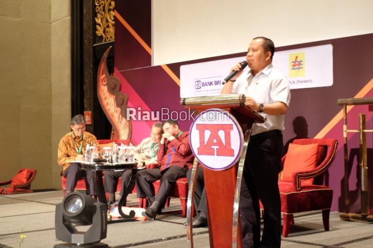 Dihadapan Dirjen Keuangan dan Dibuka Jusuf Kalla, Bupati Meranti Jadi Pembicara