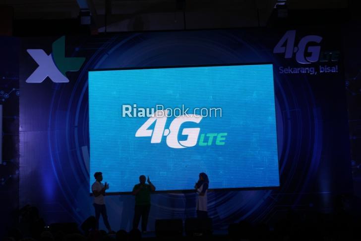 XL Gelar Launching Jaringan 4G LTE untuk Riau