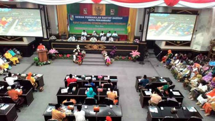 DPRD Pekanbaru Gelar Paripurna Penetapan Wali Kota Terpilih