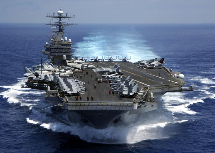 China dan Rusia Kirim Kapal Mata-mata Bayangi Armada AS di Perairan Korut