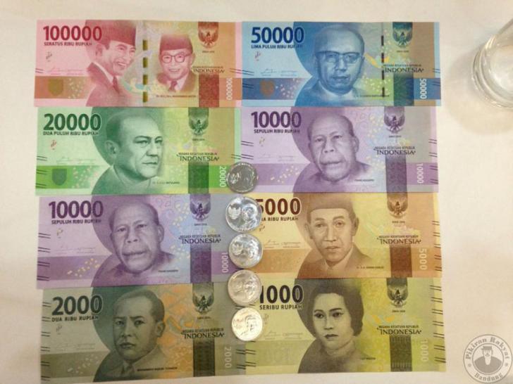 Uang Rupiah Baru Mirip Yuan Mata Uang China
