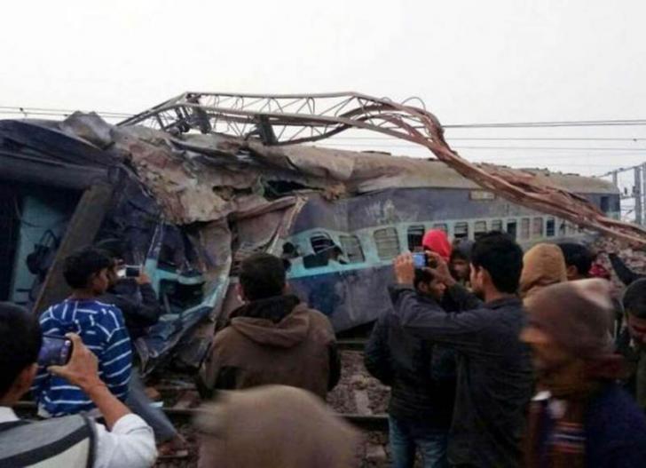 Kereta Api Terbalik di India, 36 Orang Tewas Tergencet