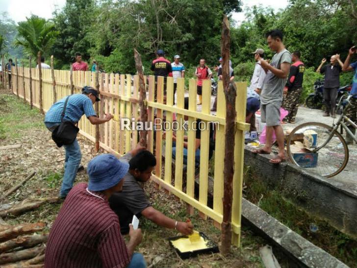 Masyarakat Desa Bersinergi Dalam Kegiatan Employee Volunteering