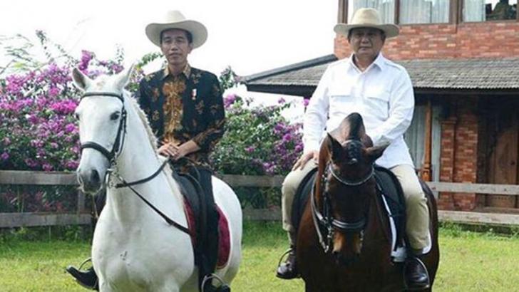 Kata Jokowi dengan Naik Kuda Dirinya Berharap Jakarta Bisa Dingin, Lho Kok Bisa?