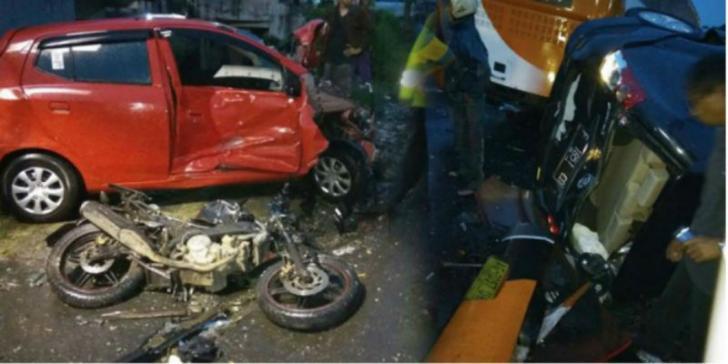 Tragis, Calon Pengantin Tewas Kecelakaan Beruntun