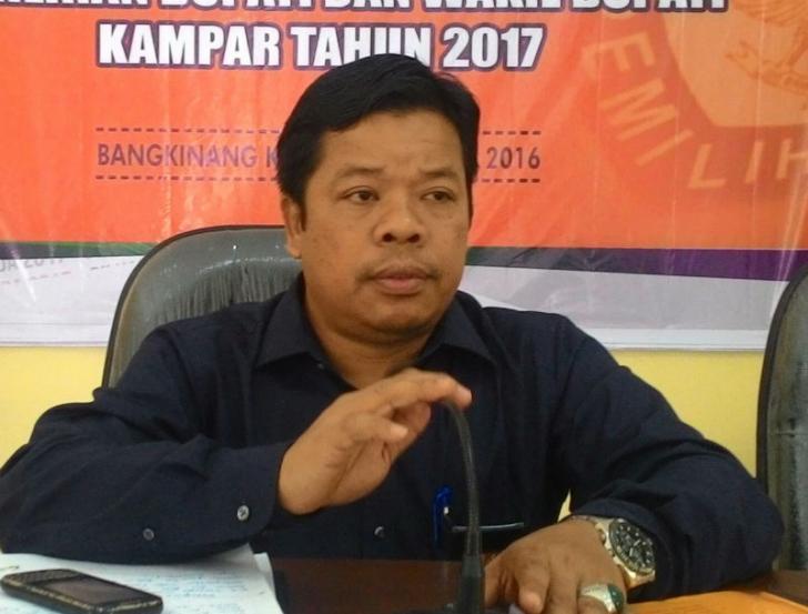 APK Hilang di XIII Koto Kampar, Yatarullah: Itu Tanggug Jawab Paslon
