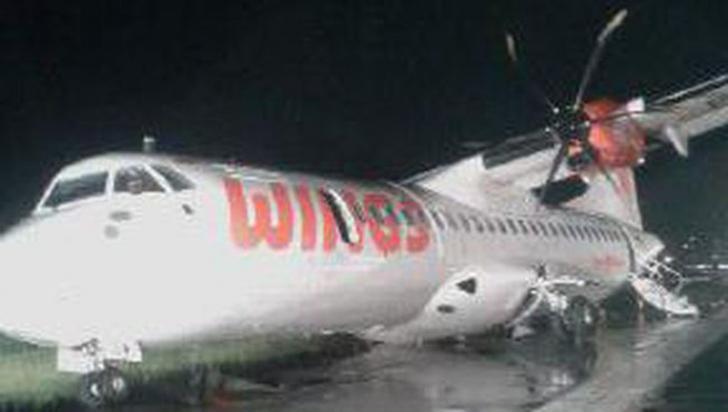 68 Penumpang Pesawat Wings Air Berhasil Dievakuasi