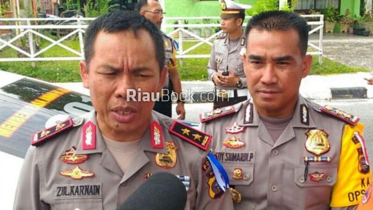 Tinjau Pos Pengamanan di Lintas Riau-Sumbar, Kapolda: Personil Tanggap Situasi