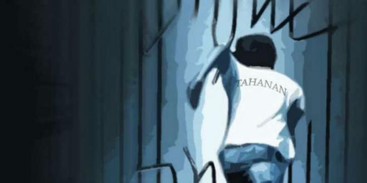 Usai Aniaya Polisi, Tiga Tahanan Melarikan Diri