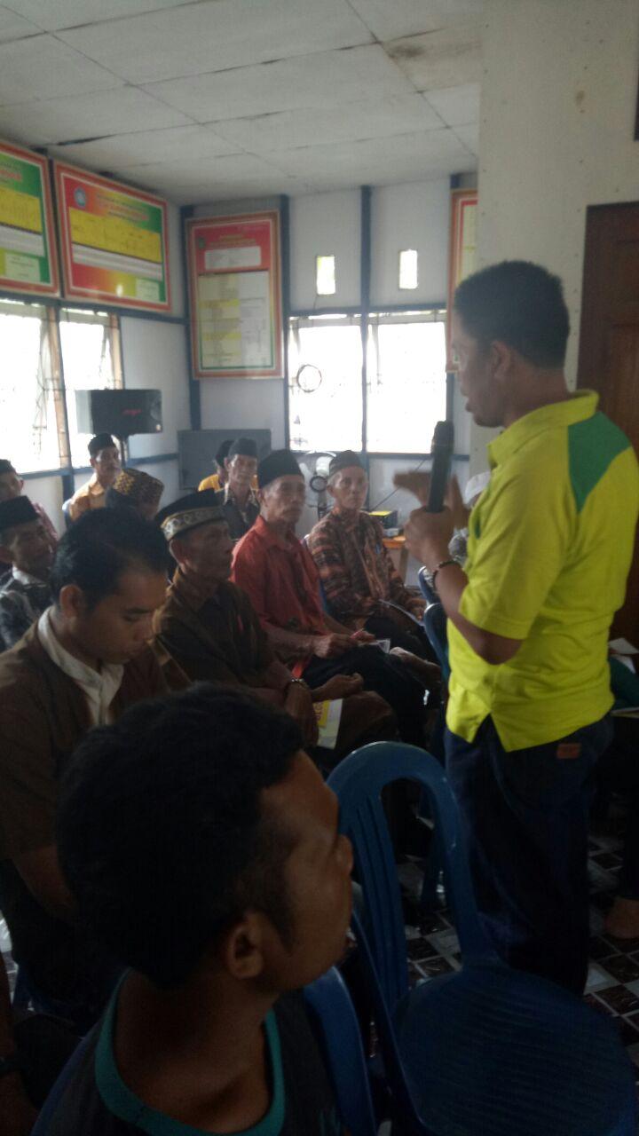 Dukung DMIJ, Camat Mandah Inhil Taja Program Peningkatan Kapasitasi Aparatur Desa