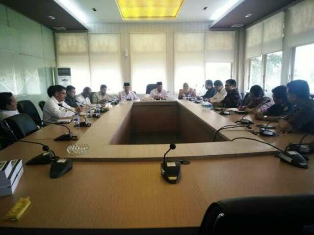 Sosialisasi Pilgubri 2018, Komisioner KPU Riau Kunjungi Pelalawan