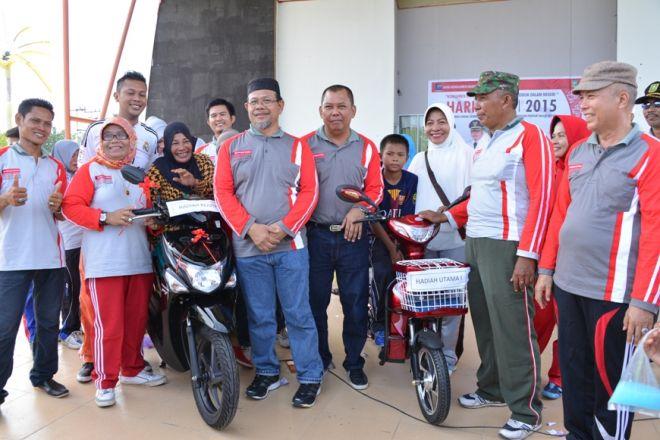 Mutiara Tak Menyangka Raih Sepeda Motor