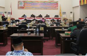 Galeri Foto Paripurna Penyampaian Hasil Reses DPRD Rohul