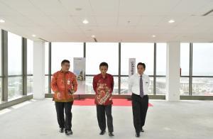 BRK Dikunjungi Deputi Pemberantasan PPATK, Lihat Pekanbaru dari Lantai 15