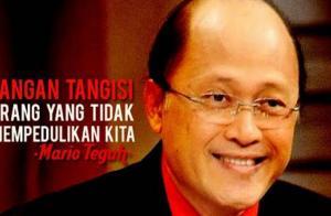 Kisah Tamat Karir Mario Teguh, dari Ratusan Juta per Jam Berganti Cibiran