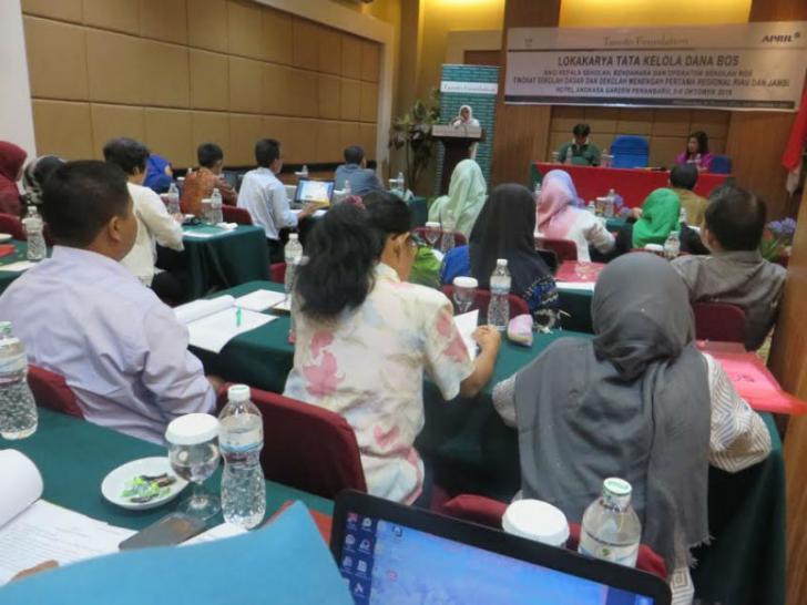 Tanoto Foundation Ungkap Rahasia Manajerial Sekolah yang Jitu