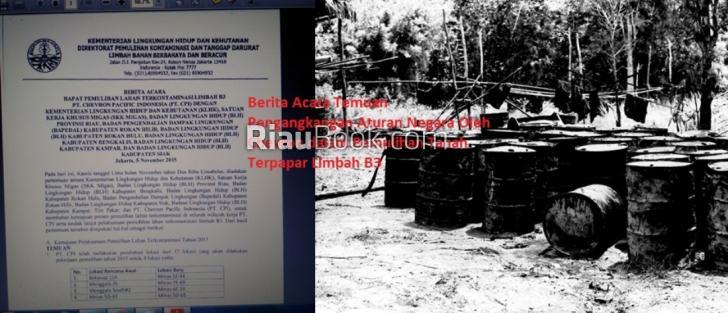 Bocor, Dokumen Rahasia Chevron Langgar 'Segudang' Aturan Negara