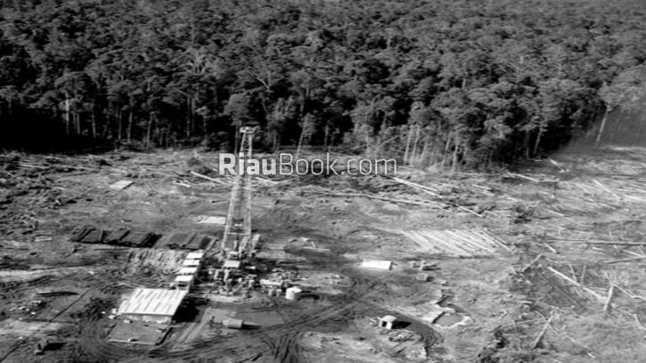 Inilah Foto-foto Ketika Chevron Diduga Cemari Riau dengan Minyak
