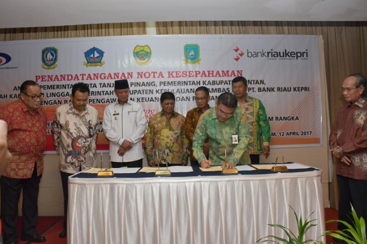 Bank Riau Kepri Kelola SIMDA 4 Kabupaten/Kota di Kepri