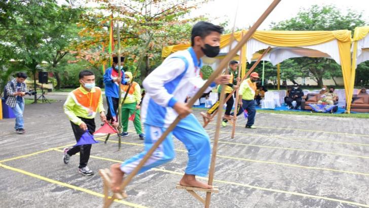 72 Peserta Ikuti Kompetisi Olahraga Tradisional