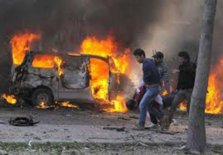Bom Bunuh Diri di Banglades, Potongan Tubuh Pelaku Berserakan