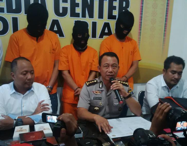 Polda Riau Ungkap Pelaku Pembobolan Rumah Mewah di Pekanbaru