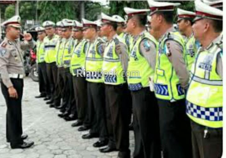 Bulan Tematik, Dit Lantas Polda Riau Tangani 35 Berkas Tilang