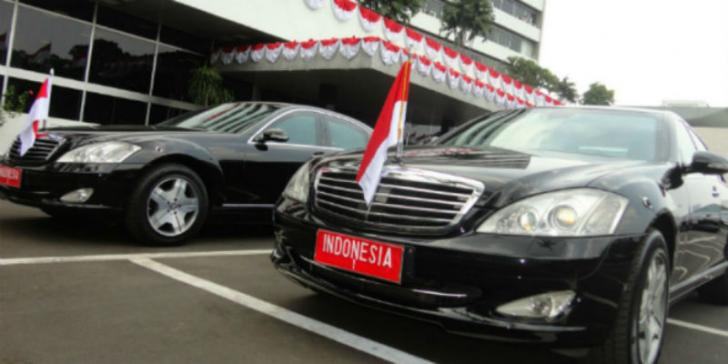 Mobil Presiden Joko Widodo Mendadak Mogok
