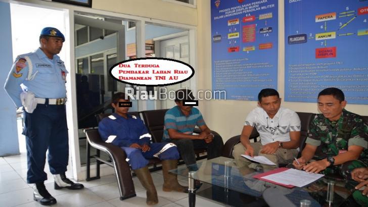 Patroli Gunakan Helikopter TNI Tangkap Terduga Pembakar Lahan Riau