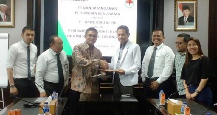 Ketua Umum PDUI Riau Gandeng Bank Riau Kepri untuk Co Branding