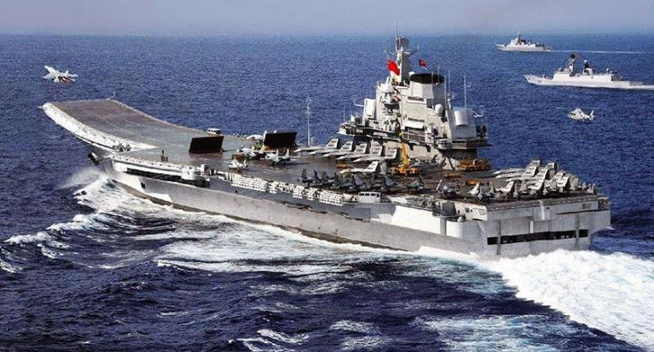 Perkuat Militer, China Segera Miliki Kapal Induk Kedua Setelah Liaoning