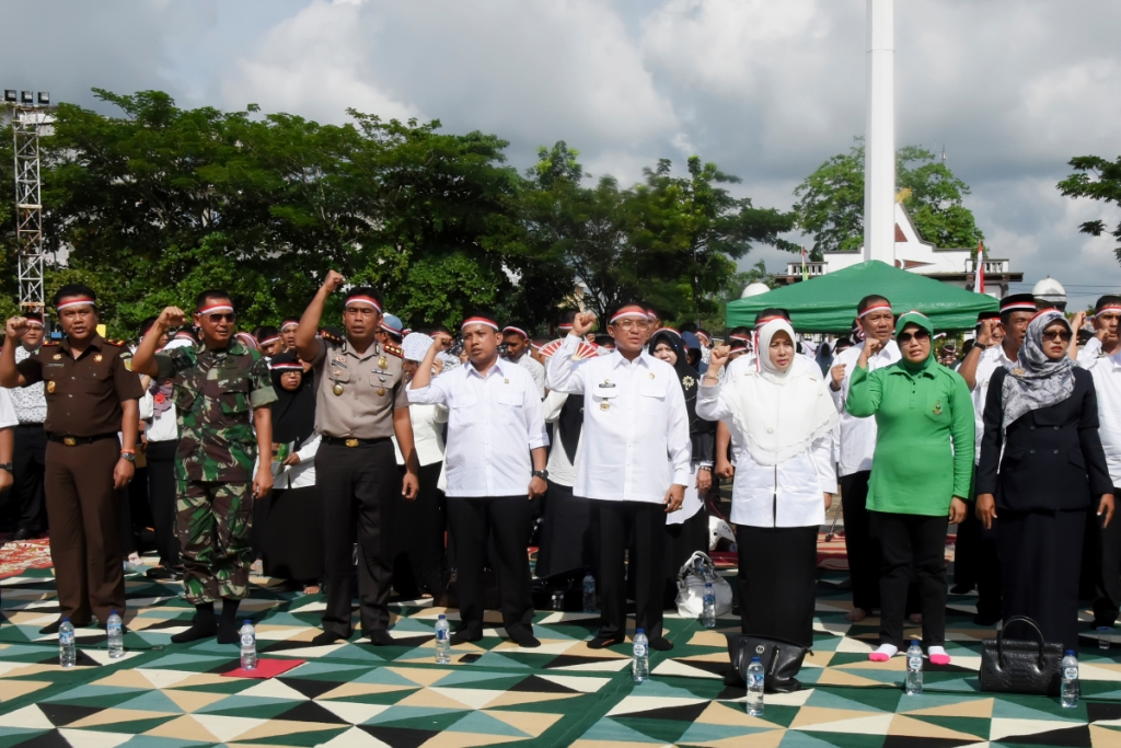 Acara Nusantara Bersatu di Inhil, H. M. Wardan: NKRI Harga Mati