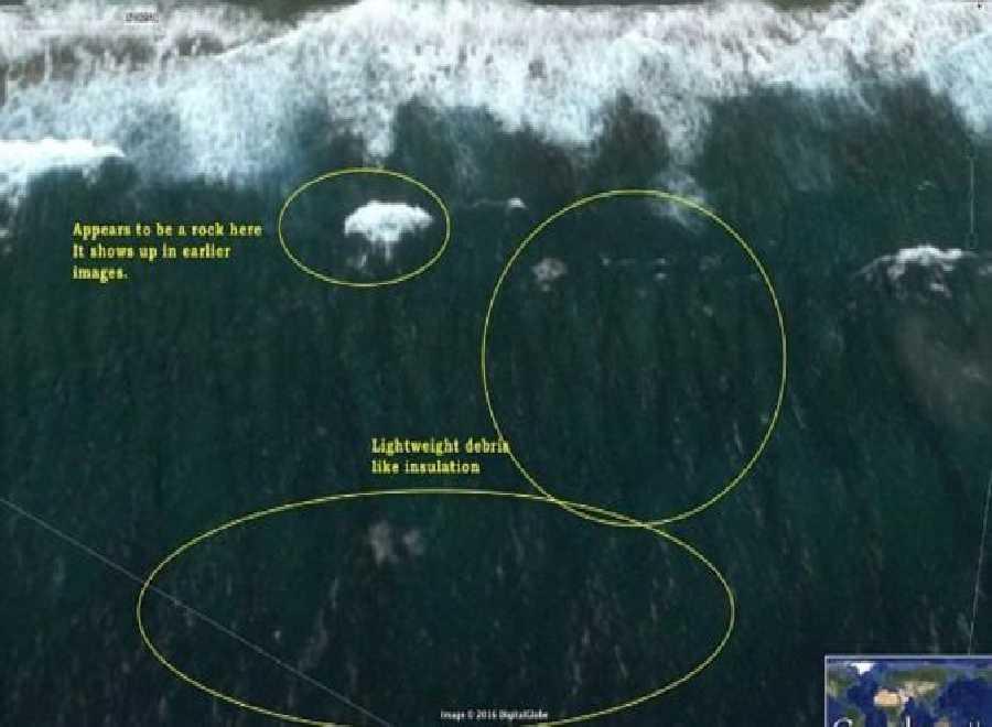 Bangkai Malaysia Airlines MH370 Tampak di Google Earth, Ini Ragam Pendapat Kejadian itu