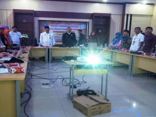 BPM2T Bersama BNNK Pelalawan Taja Workshop Penanggulangan Narkotika