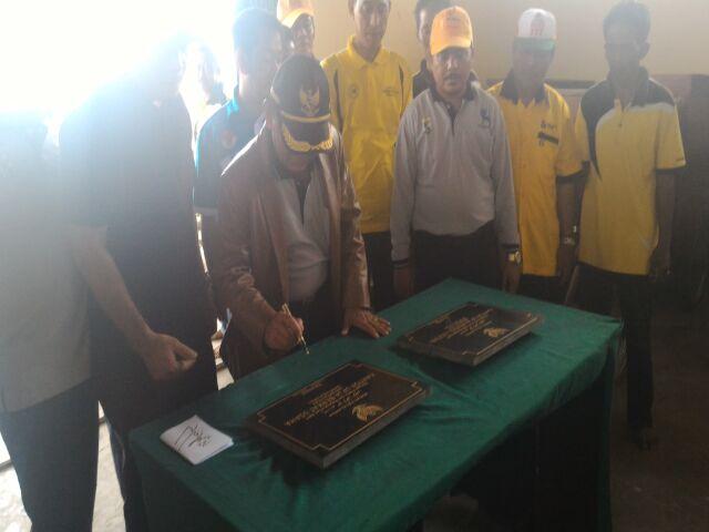 Bupati Resmikan UPJA Mendol Lestari Untuk Hasilkan Teknik Pertanian Secara Mekanikal