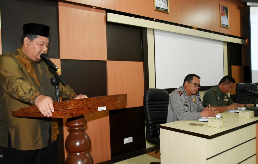 Dialog dan Diskusi Wawasan Kebangsaan Dibuka Resmi Asisten 1 Setda Inhil
