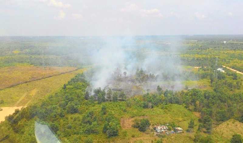 Lokasi Sulit Dijangkau, Kebakaran Lahan Kini Meluas Hingga ke Pekanbaru