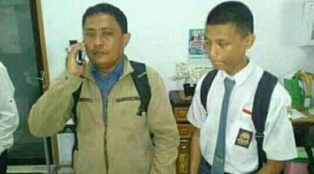 Polisi Tetapkan Orang Tua dan Siswa Pemukul Guru di Makasar sebagai Tersangka