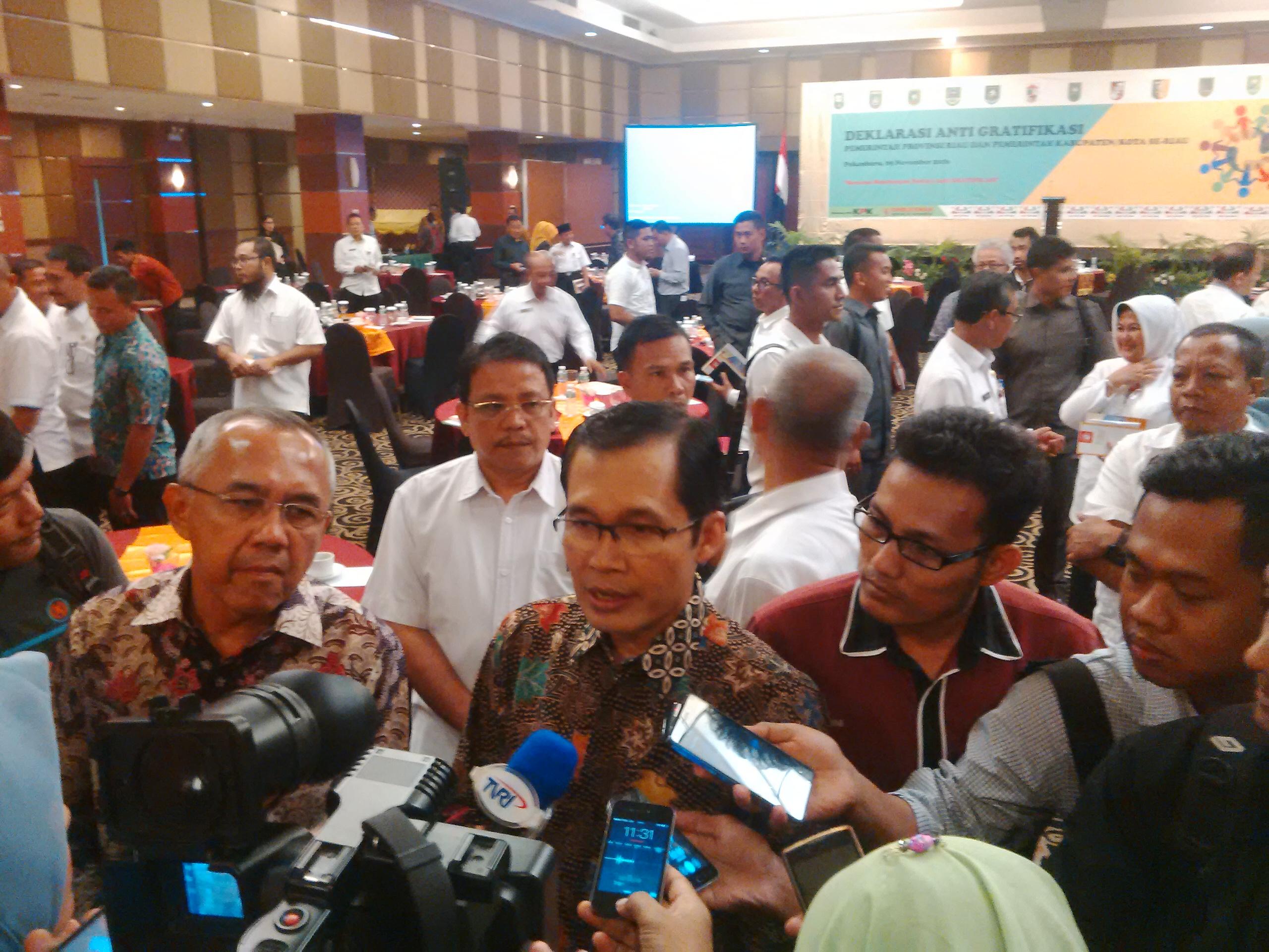 Riau Tuan Rumah Hari Anti Korupsi, Ini Susunan Kepanitiaannya